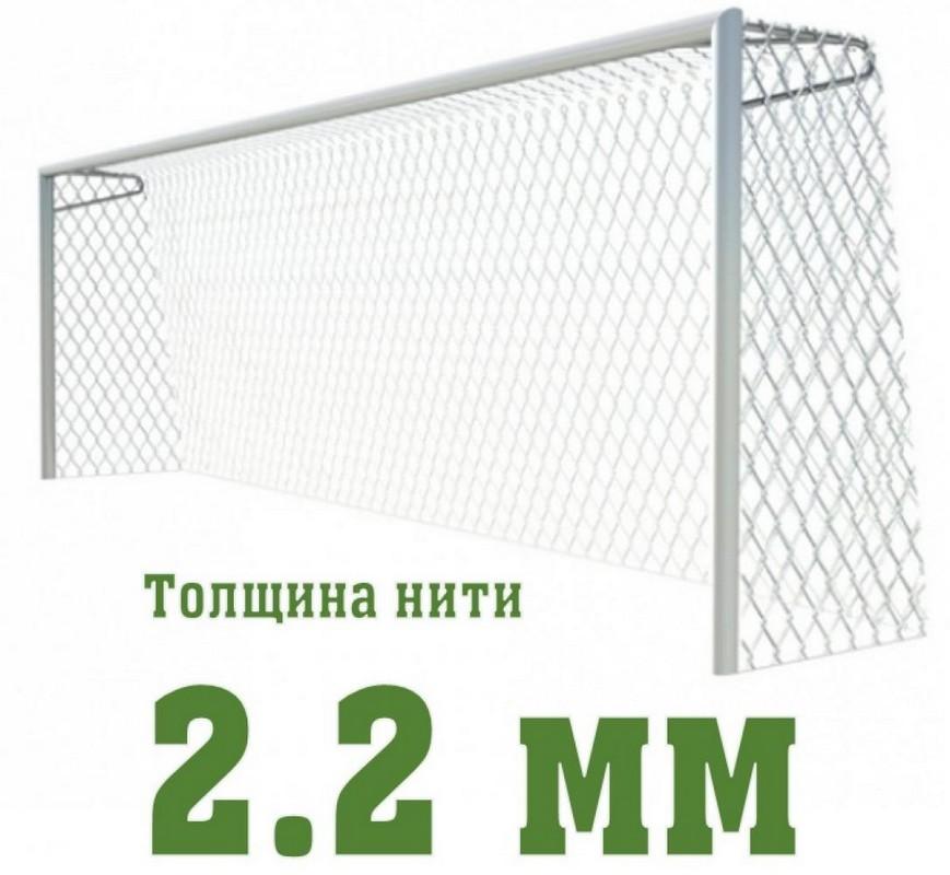 Купить Сетка для футбольных ворот SG тренировочная d=2,2мм SG-415,