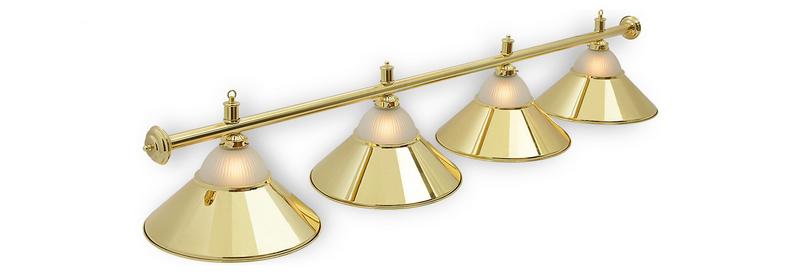 Светильник Fortuna Alison Golden 4 плафона
