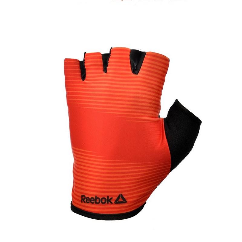 Тренировочные перчатки Reebok красные RAGB-11235RD красные перчатки бурлеск uni