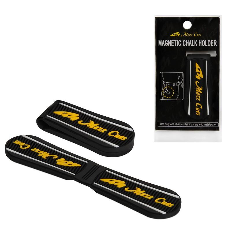 Купить Держатель для мела Mezz Magnetic Chalk Holder MPH-KY магнитный 09805 черныйжелтый,