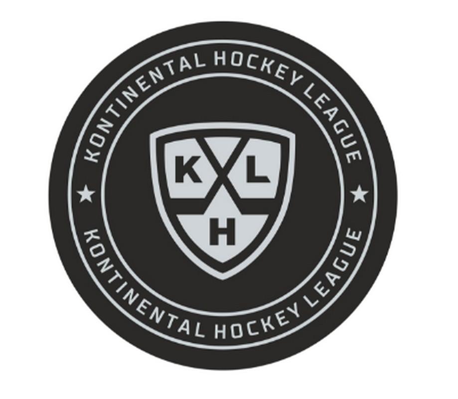 Шайба хоккейная Rubena КХЛ 2018, в блистере