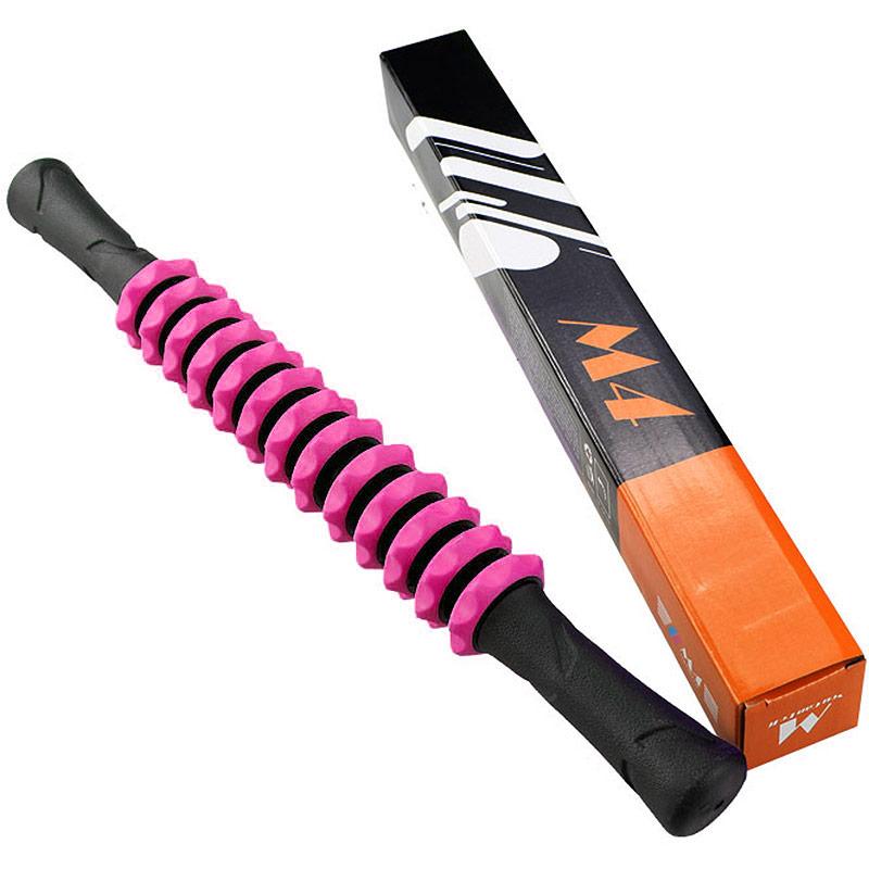 Купить Ролик палка гимнастическая массажная Hawk М4 (розовый) B31270-1,