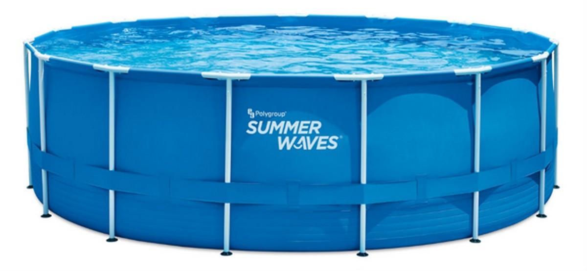 Купить Каркасный бассейн круглый 457х132см SummerWaves P20015520,