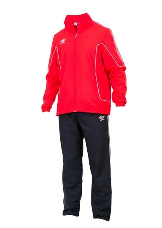 Костюм спортивный Umbro Prodigy Team Lined Suit мужской 460215 (261) красн/чер/бел.