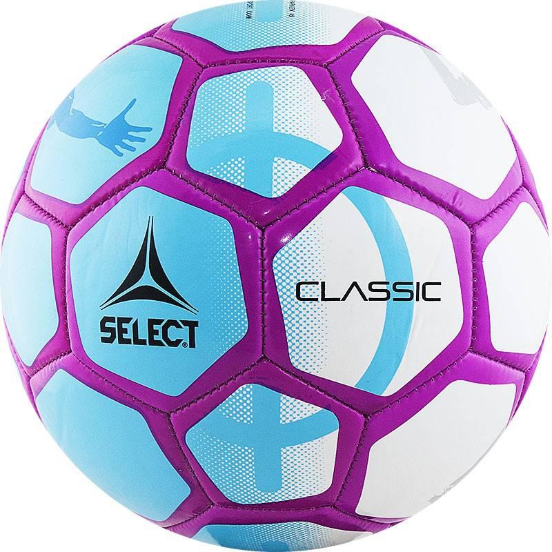 Мяч футбольный Select Classic 815316-002 р.4 мяч футзальный select futsal talento 11 852616 049 р 3