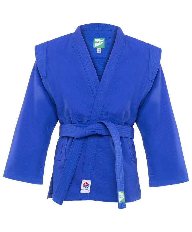 Куртка для самбо Green Hill JS-303 синий цена