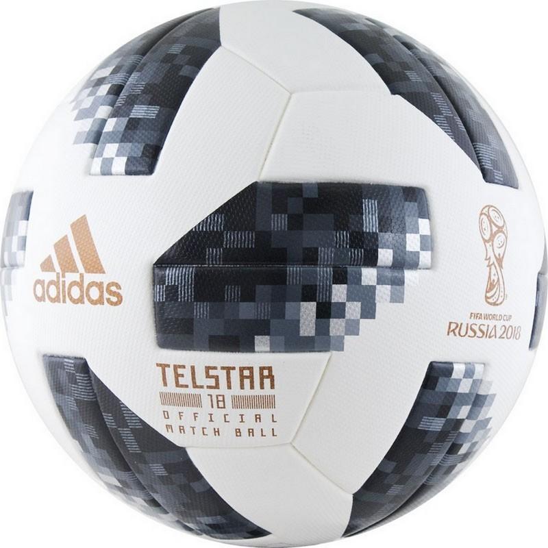 Мяч футбольный Adidas WC2018 Telstar OMB р.5 мяч футбольный р 5 adidas telstar winter omb ce8084