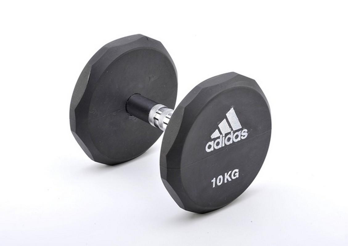 Гантель обрезиненная 25 кг Adidas ADWT-10325