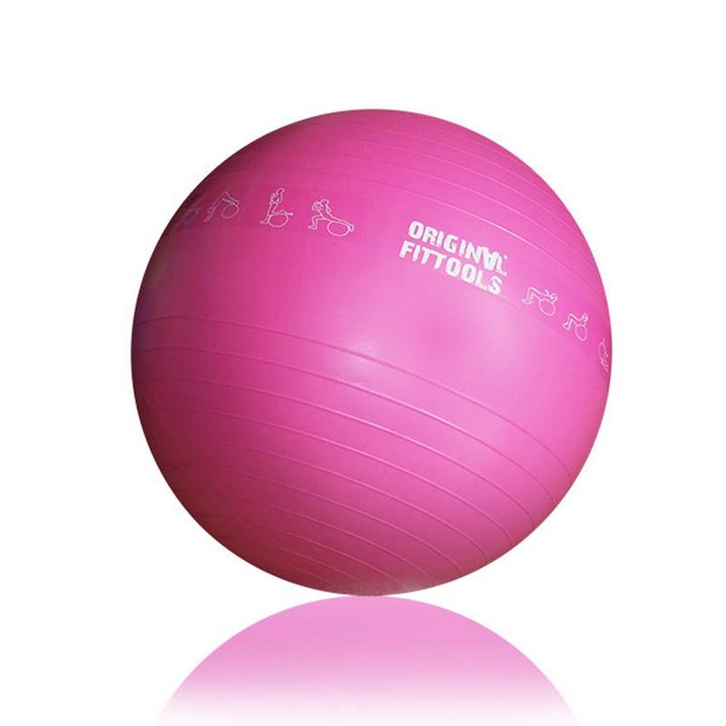Гимнастический мяч 55 см Original Fit.Tools для коммерческого использования FT-GBPRO-55 гимнастический шар 65 см