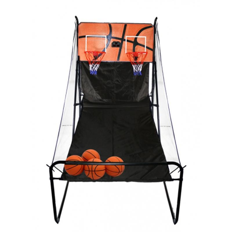 Баскетбольная электронная стойка с двумя кольцами BS05788