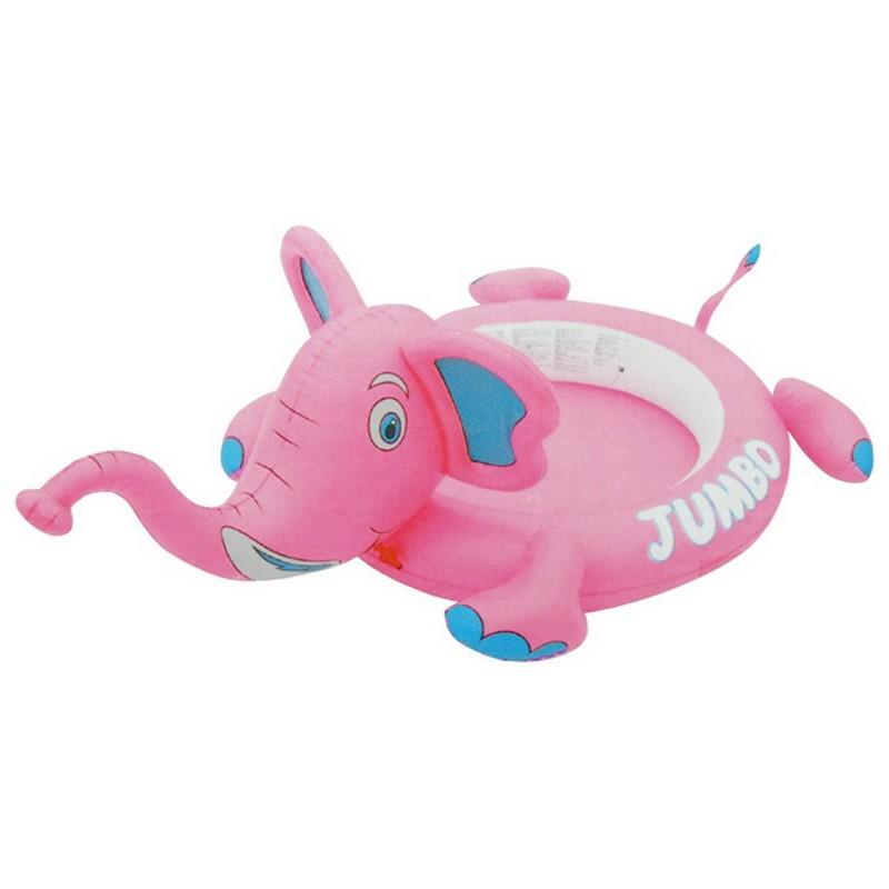 Бассейн Розовый слон с разбрызгивателем 180х119х25см Bestway BW53000