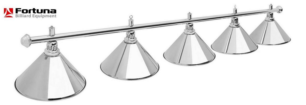 Светильник Fortuna Prestige Silver 5 плафонов