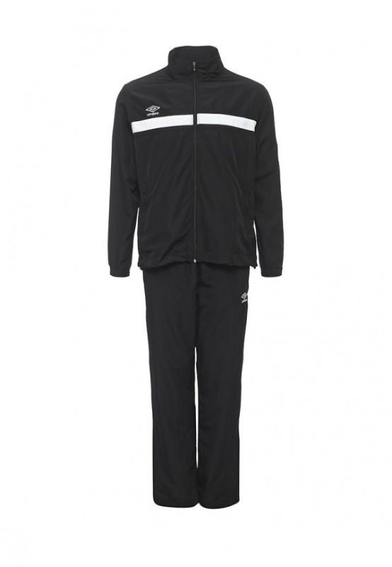 Костюм спортивный Umbro Smart Lined Suit мужской 462016 (061) чер/бел.