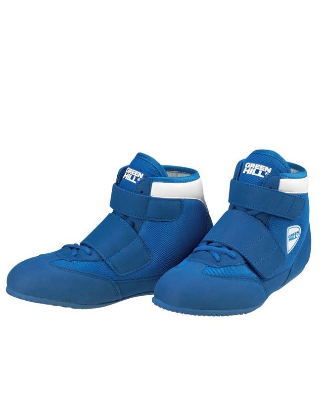 Обувь для борьбы Green Hill Spark WSS-3255, синий