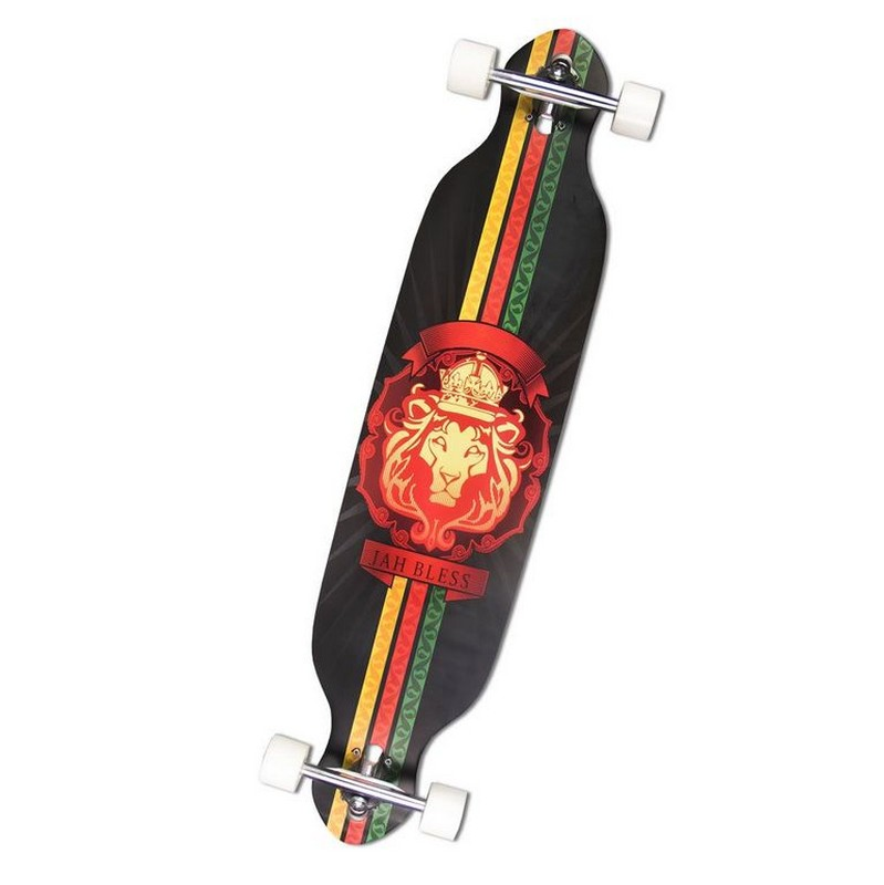 Фото - Скейтборд MaxCity MC Long Board 42' Lion скейтборд maxcity mc king kong