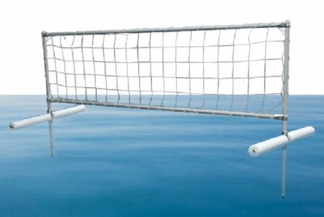 Стойка волейбольная для игры на воде 200х70 см алюминий