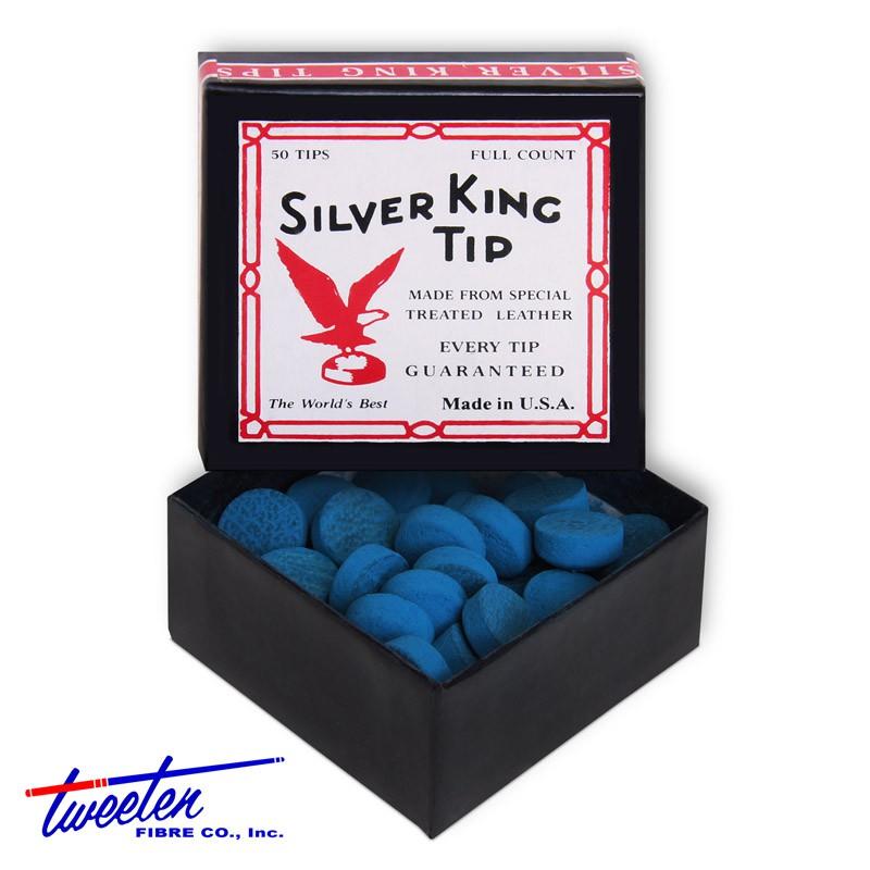 Наклейка для кия Tweeten Silver King ?12мм 50шт. наклейка для кия tweeten elk master 12мм 50шт