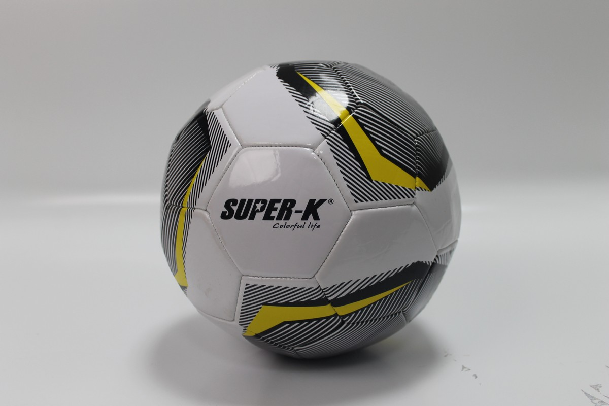 Мяч футбольный Super-K SO30586 №5 ПВХ
