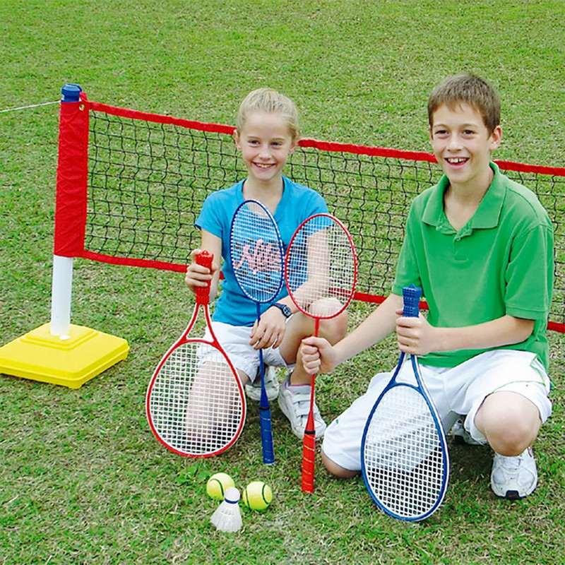 Купить Набор детский DFC для игры в бадминтон и теннис Goal228A,