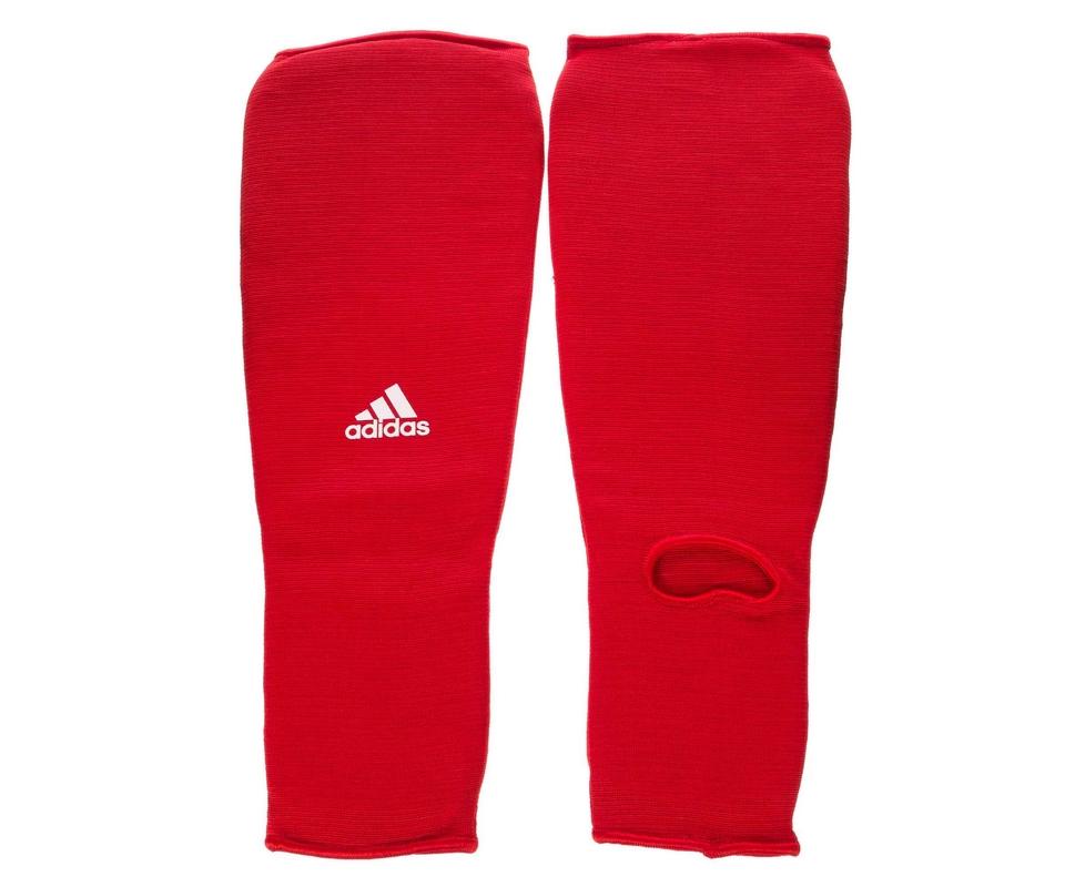все цены на Защита голени и стопы Adidas Shin and Step Pad красная adiBP08