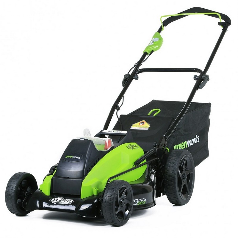 Газонокосилка аккумуляторная Greenworks 2500407 G-MAX 40V 18-Inch DigiPro 00000118760 без АКБ и ЗУ