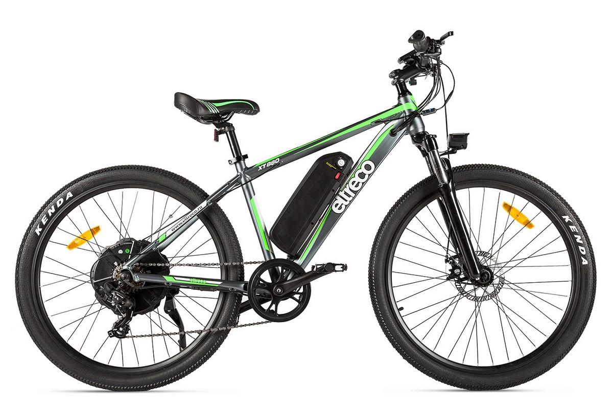 Велогибрид Eltreco XT880 black