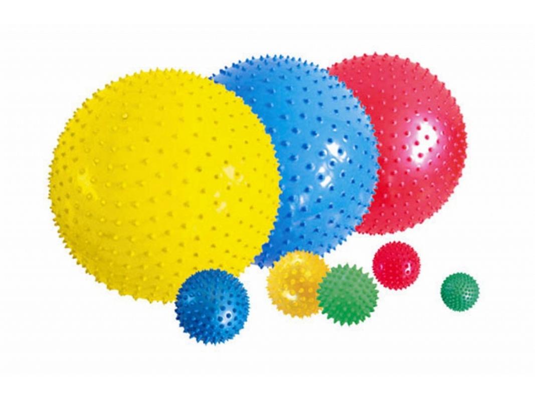 Мяч гимнастический Flexter массажный 65см серебристый FL97404
