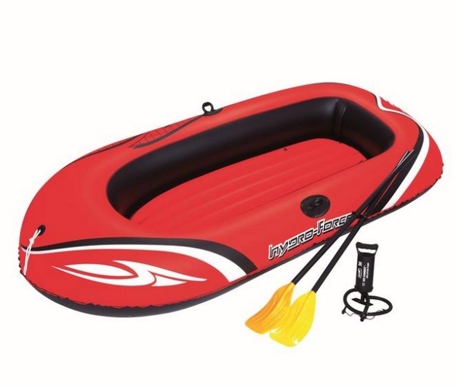 Лодка надувная Bestway Kondor 3000 c веслами и насосом 242x141 см 61102