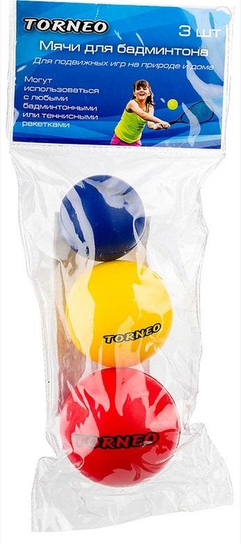 Набор для бадминтона: мяч 3шт Torneo B-003