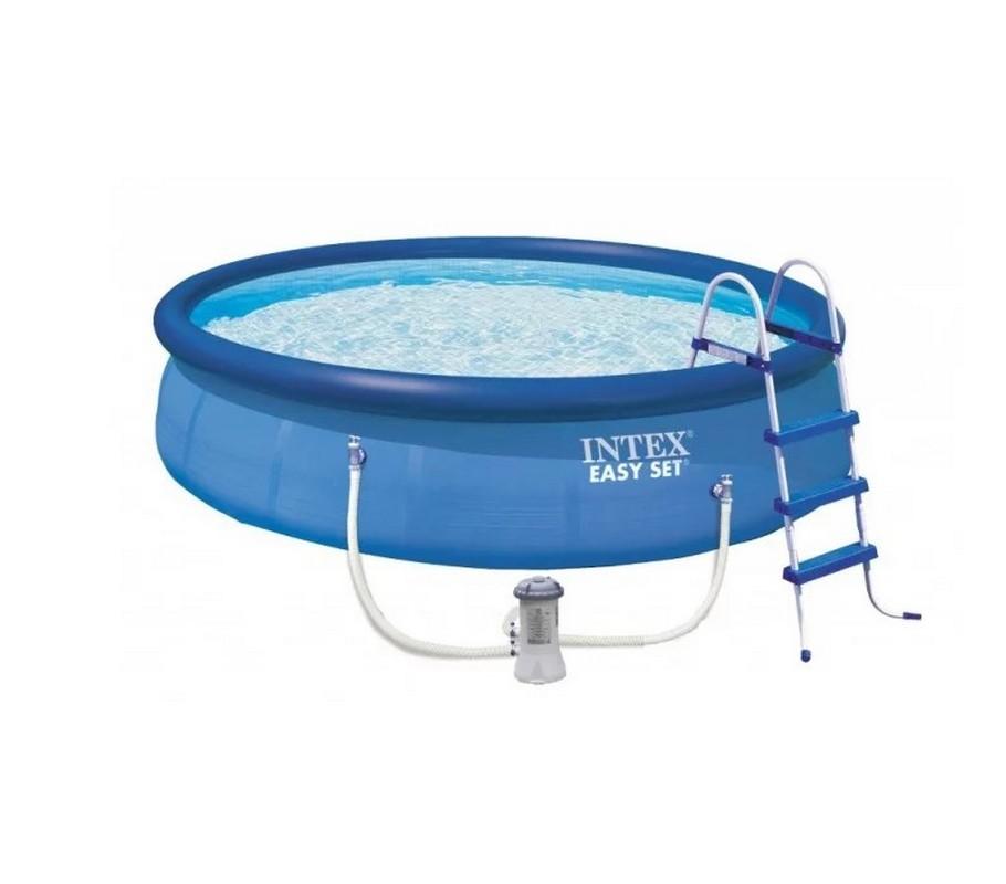 Купить Бассейн 457х107см+фильтр-насос Intex Easy Set 26166,