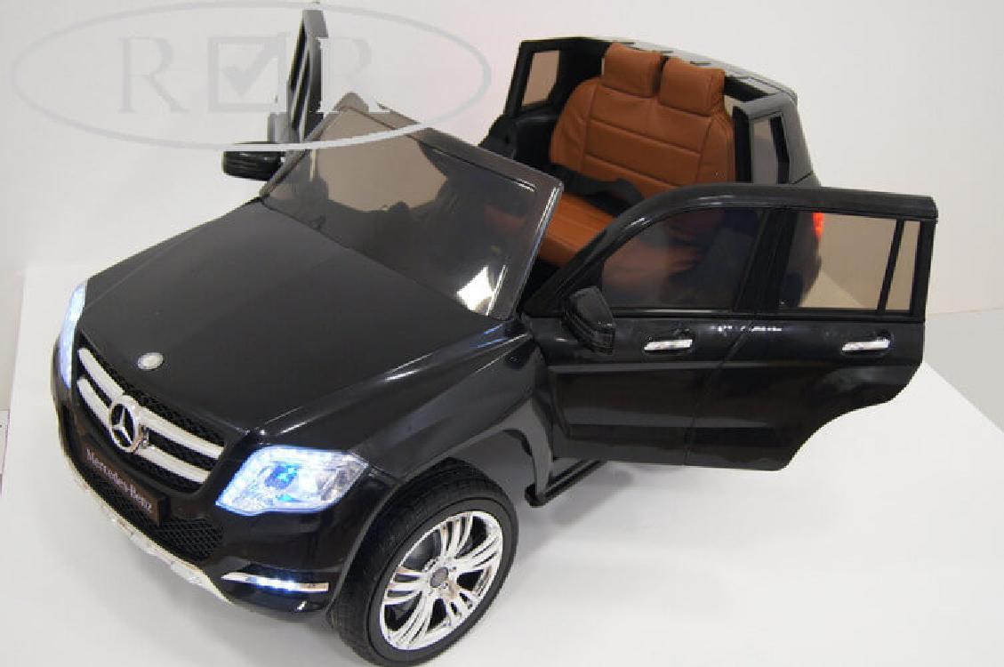 Электромобиль River-Toys Mercedes-Benz GLK300 черный с ДУ (лицензия)