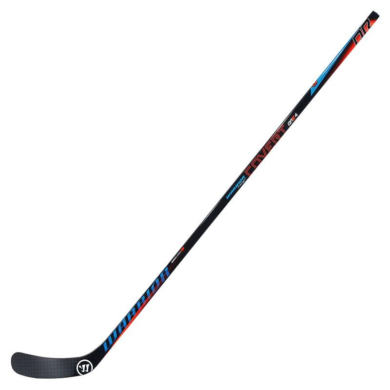 Купить Клюшка хоккейная Warrior Covert Qre4 Grip 75, арт.QRE475G8-LFT, черно-сине-красный,