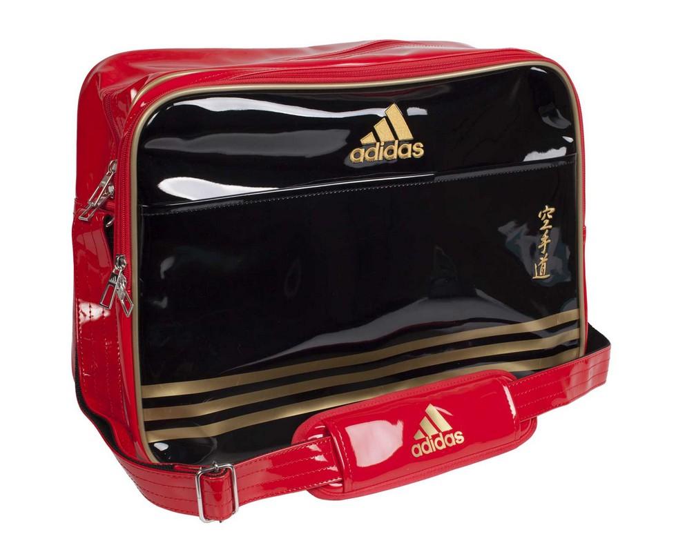 Сумка спортивная Adidas Sports Carry Bag Karate L черно-красно-золотая adiACC110CS2L-K yzea yzea спортивная сумка sports конус