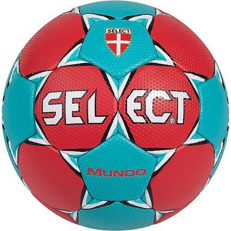 Мяч гандбольный Select Mundo Junior р.2 мяч футзальный select futsal talento 11 852616 049 р 3