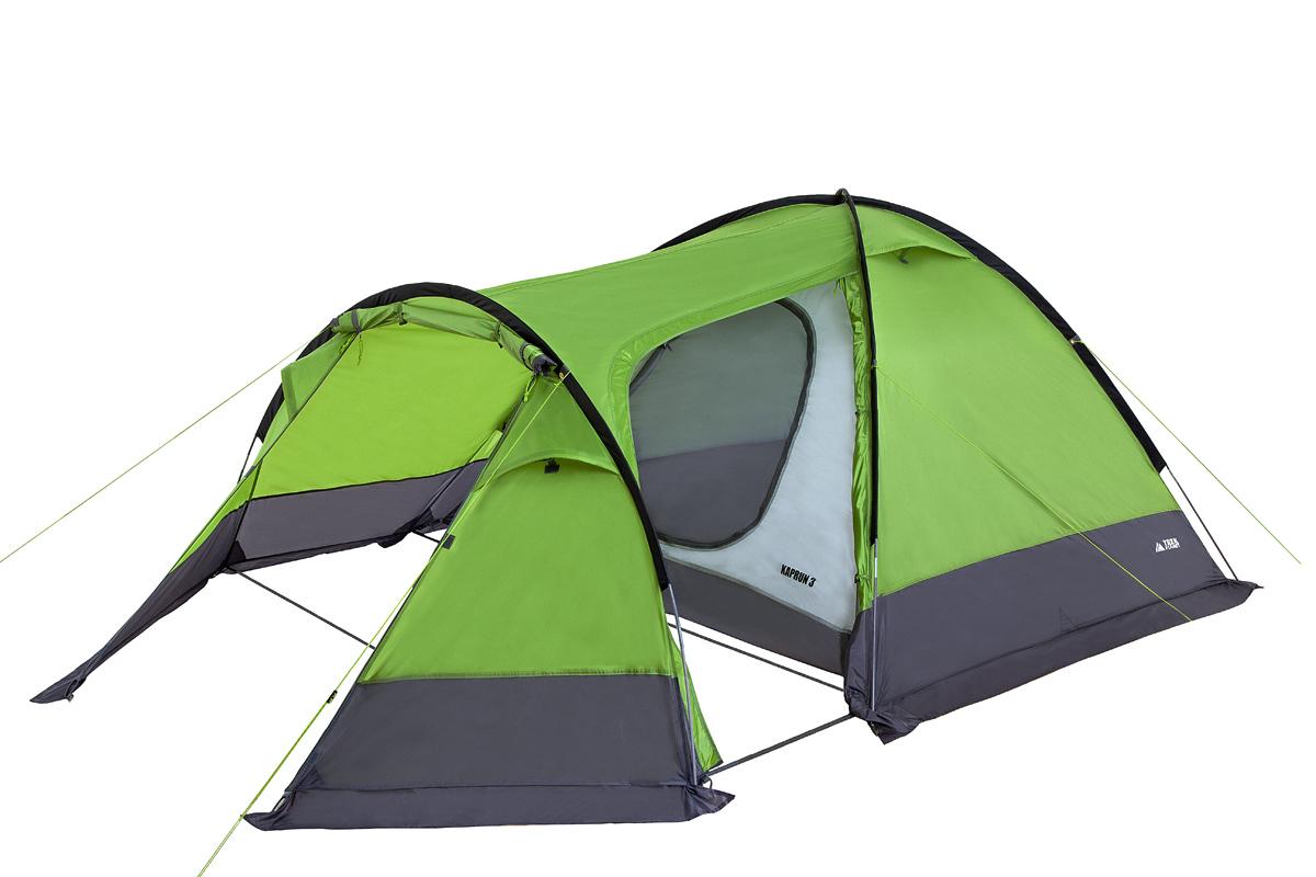 Трекинговая палатка Trek Planet Kaprun 3, зеленый
