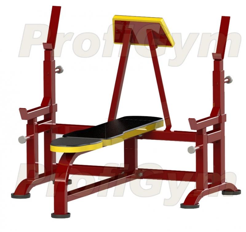 Купить Скамья для жима ProfiGym 2СК-0050-HР (Rubin),