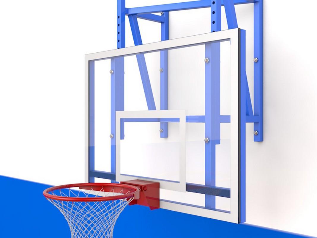 Щит баскетбольный Glav с регулировкой высоты, тренировочный 01.210,  - купить со скидкой