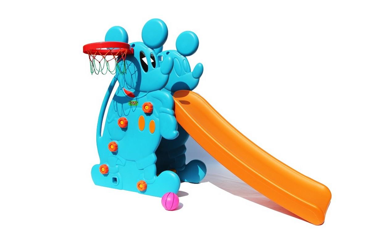 Горка Perfetto Sport Мышка PS-027-1 синий smoby детская горка king size цвет красный