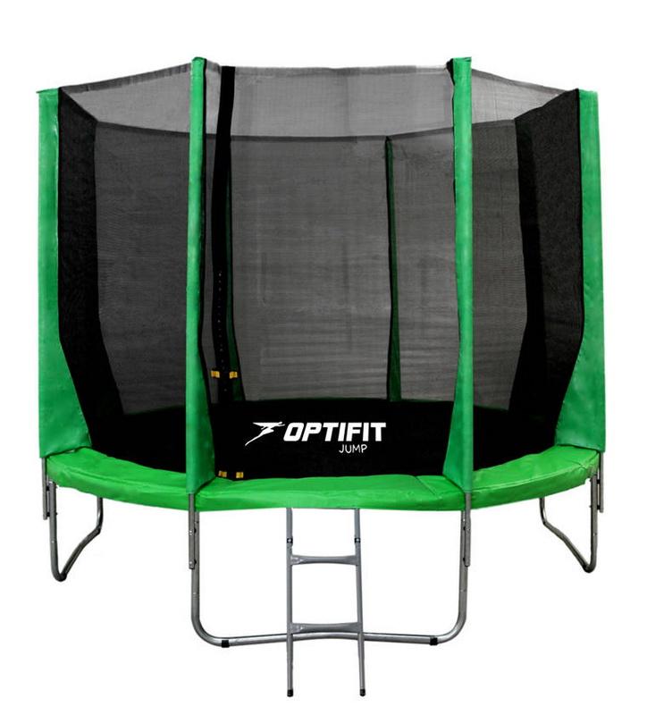 Батут Optifit Jump 10FT 305 см зеленый