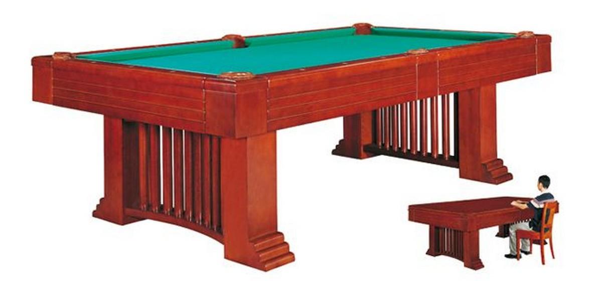 Купить Бильярдный стол для пула Romance 8 ф (коричневый) со столешницей + сукно 55.059.08.0, NoBrand