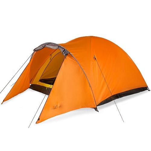 Палатка 2-м Greenwood Target 2 оренжево-серый