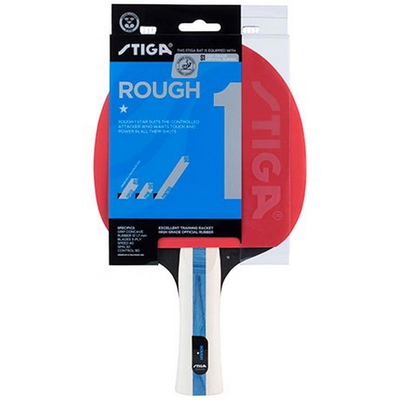 Ракетка для настольного тенниса Stiga Rough 1* 1211-1617-01 ракетка для настольного тенниса start line level 200 60 311