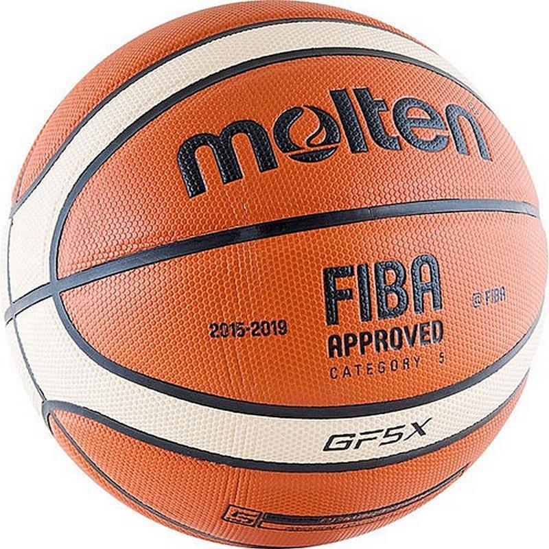Баскетбольный мяч Molten BGF5X №5 фото
