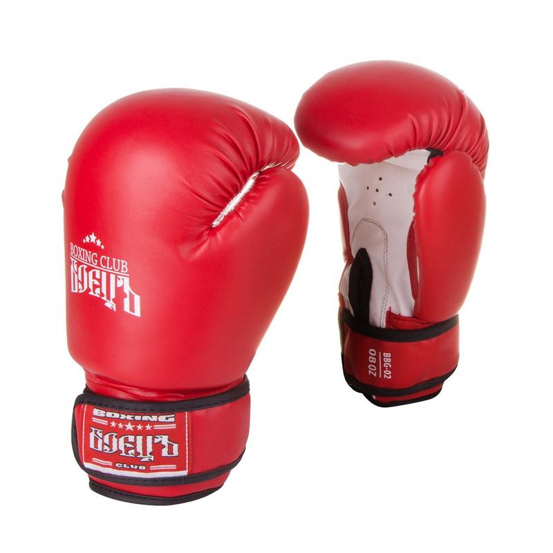 Купить Боксерские перчатки Боецъ BBG-02 Красные 14 oz,