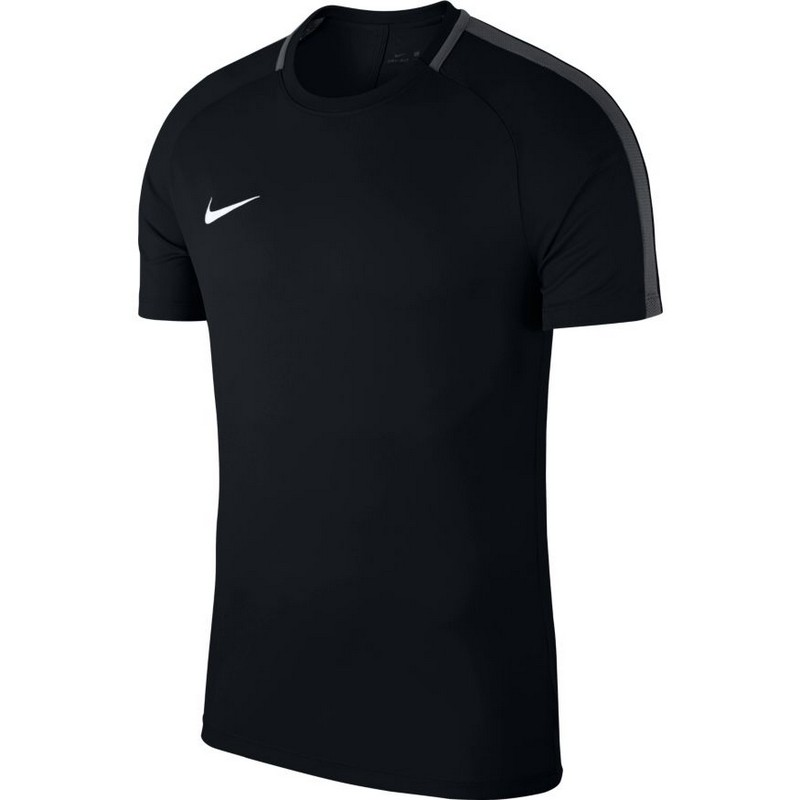 Футболка детская Nike Dry Acdmy18 Top Ss Jr 893750-010 тренировочная, черная