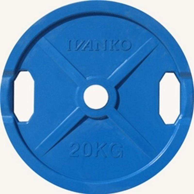 Купить Диск d51 мм Johns 20 кг DR71022 - 20С синий,