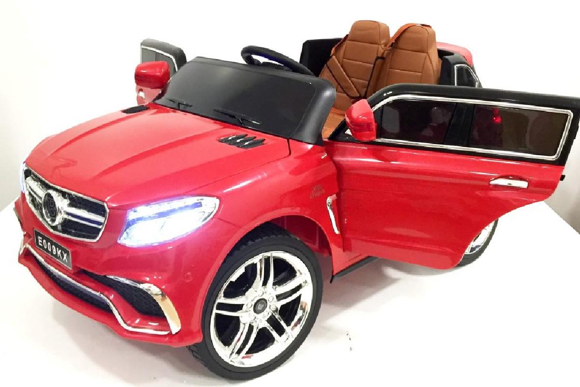 Электромобиль River-Toys Mercedes E009KX красный с ДУ