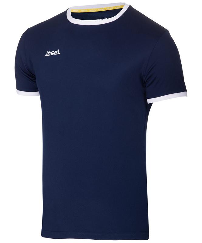 Купить Футболка футбольная Jögel детская JFT-1010-091 темно-синийбелый,