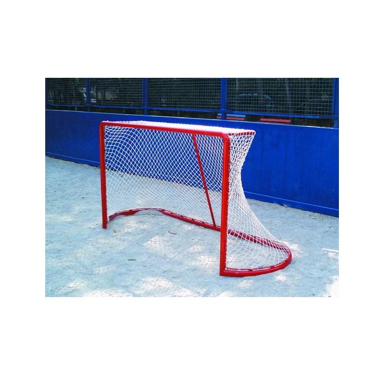 Купить Сетка хоккейная Д=5 мм к-т 2шт профи, безузл., для ворот 1,25*1,85*1,30м, полиамид Ellada УТ7775,