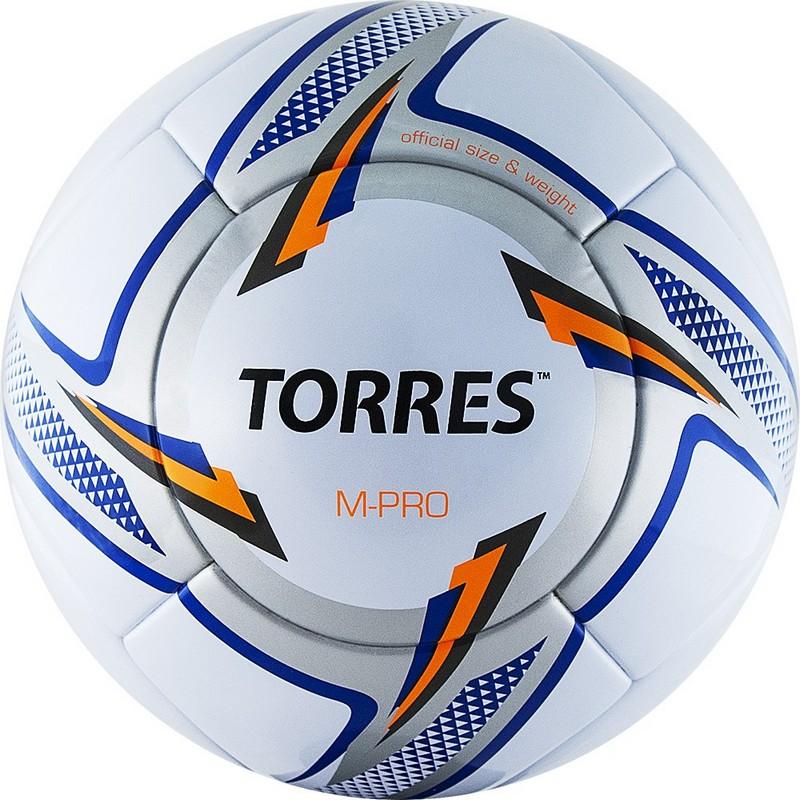 Купить Мяч футбольный Torres M-Pro White F319135, р.5,